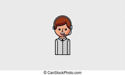 portrait operator call center service