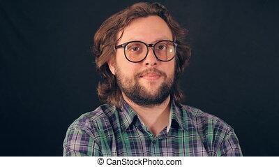 portrait professional candid employee