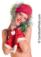 Portrait Santa Girl