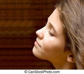 Portrait Teen Girl