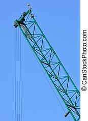 crane jib in portrait