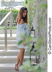 portrait woman asian