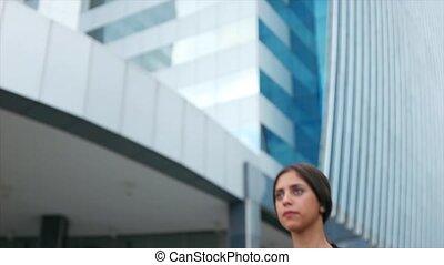 Portrait Young Business Woman