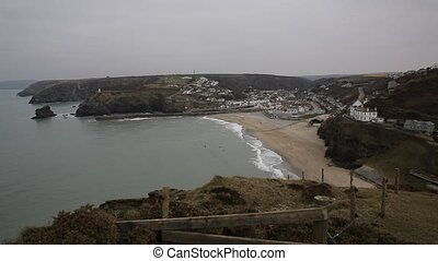 Portreath North Cornwall England