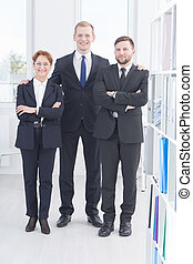 portret, businesspeople