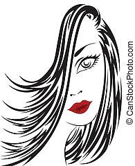 portret, kobieta