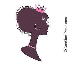 portret, princess5
