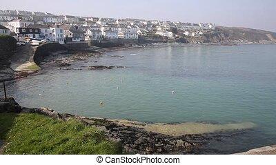 Portscatho Cornwall Roseland UK - Portscatho Cornwall on the...