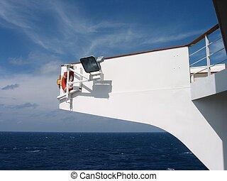 bridge on ship