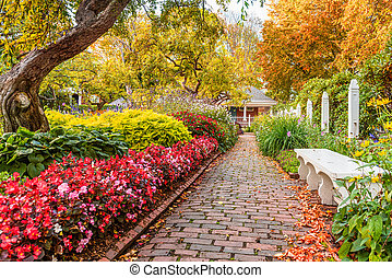 Portsmouth, New Hampshire, USA at Prescott Park during ...