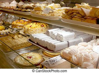 portugál, pékség