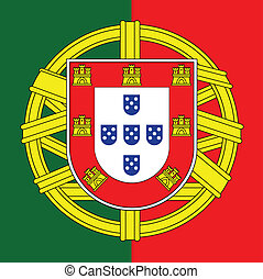 portugália, címerpajzs