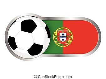 portugália, jelvény, futballcsapat