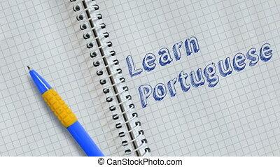 portugais, apprendre