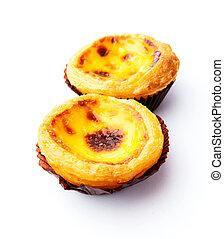 portugais, oeuf, tarte