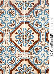 portugais, tiles., vitré