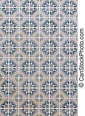 portugais, tuiles, azulejo