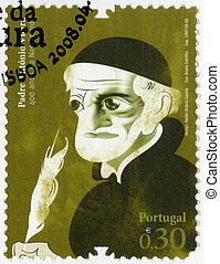 PORTUGAL - 2008: shows Father Antonio Vieira (1608- 1697),...