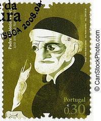 PORTUGAL - 2008: shows Father Antonio Vieira (1608- 1697),...