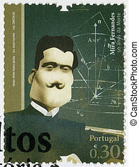 PORTUGAL - 2008: shows Mira Fernandes (1884-1958),...