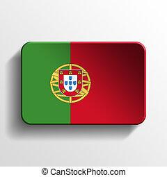 Portugal 3D button