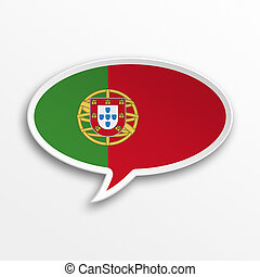 Portugal 3d speech Bubble