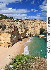 Portugal beach landscape