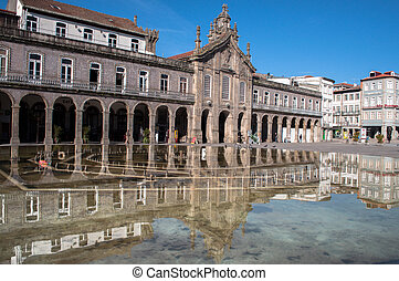 Portugal, Braga - Portugal. It is located in South-Western ...