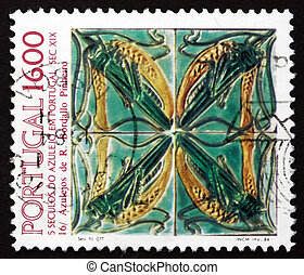 PORTUGAL - CIRCA 1984: a stamp printed in the Portugal shows...