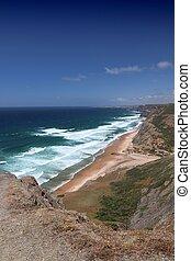 Portugal coast landscape
