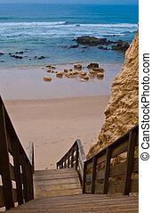 portugal, -, da, praia, rocha, algarve