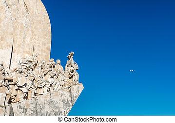(portugal), discoveries, lisboa, monumento