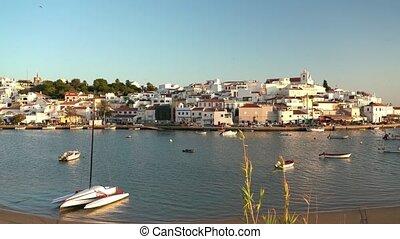 portugal, feragudo., portugais, historique, village, algarve...