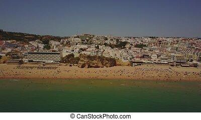portugal, kueste, architektur, albureira, algarve,...