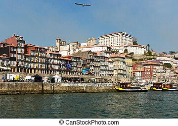 Portugal. Porto city. The other side of Porto. Ribeira
