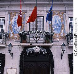 portugal, regierung gebäude
