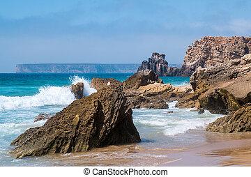 Portugal - Rocks in the Atlantic - Rocks in the atlantic...