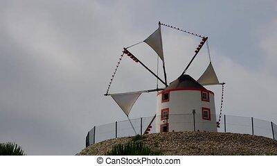 Portugal windmill