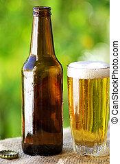 portugués, frío, beer.