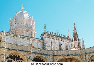 portugués, hieronymites, construido, portugal, monasterio,...