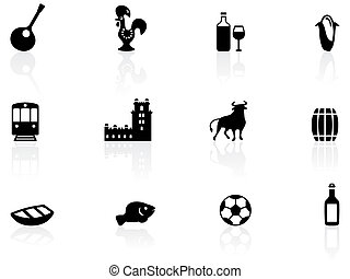 portugués, iconos