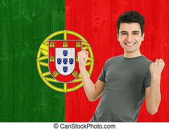 portugués, ventilador deportivo