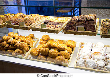 portuguese bakery counter
