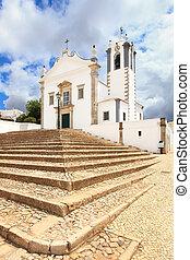 Portuguese Church landmark Igreja de Sao Martinho de Estoi ...