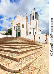 Portuguese Church landmark Igreja de Sao Martinho de Estoi...