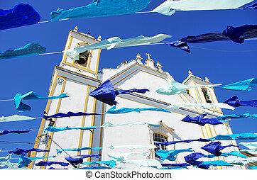 Portuguese church,Redondo village, Portugal