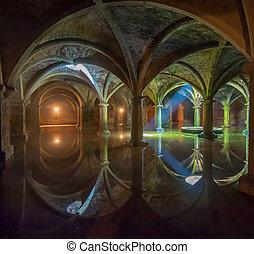 Portuguese Cistern in El Jadida, Morocco