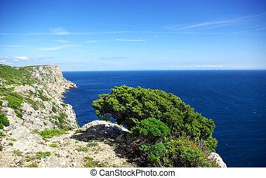portuguese coastline near Sesimbra