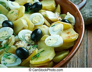 Portuguese Cod Fish Casserole