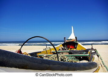 Portuguese fishing boat.